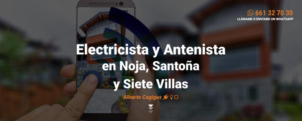 Eletricista y antenista en Noja